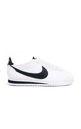 NIKE Classic Cortez Leather 白黑經典復古阿甘鞋