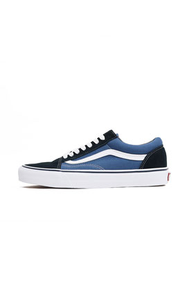 VANS Old Skool Black/Navy 經典復刻帆布鞋